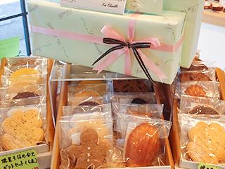 シェフお薦めの焼き菓子セットプレゼント!